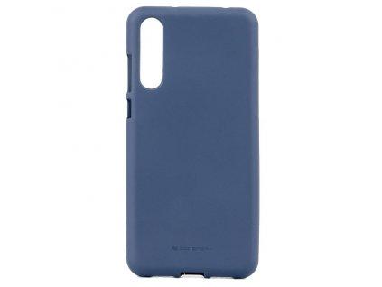 Pouzdro / kryt pro Huawei P20 PRO - Mercury, Soft Feeling Midnight Blue