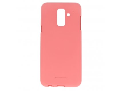 Pouzdro / kryt pro Samsung GALAXY A6 PLUS (2018) A605F - Mercury, Soft Feeling Pink