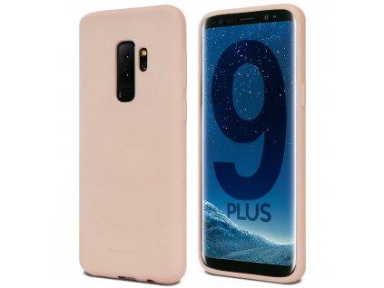 Pouzdro / kryt pro Samsung Galaxy S9 PLUS - Mercury, Soft Feeling Pink Sand
