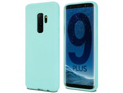 Pouzdro / kryt pro Samsung Galaxy S9 PLUS - Mercury, Soft Feeling Mint