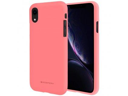 Ochranný kryt pro iPhone XR - Mercury, Soft Feeling Pink