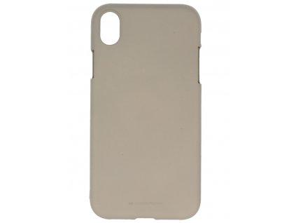 Ochranný kryt pro iPhone XR - Mercury, Soft Feeling Stone