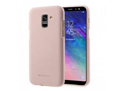 Pouzdro / kryt pro Samsung GALAXY A6 (2018) A600F - Mercury, Soft Feeling Pink Sand