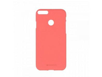 Ochranný kryt pro Huawei P Smart (ENJOY 7S) - Mercury, Soft Feeling Pink