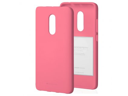 Ochranný kryt pro Xiaomi Redmi 5 PLUS - Mercury, Soft Feeling Pink