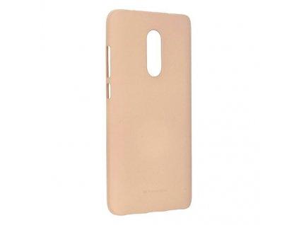 Ochranný kryt pro Xiaomi Redmi 5 - Mercury, Soft Feeling Pink Sand