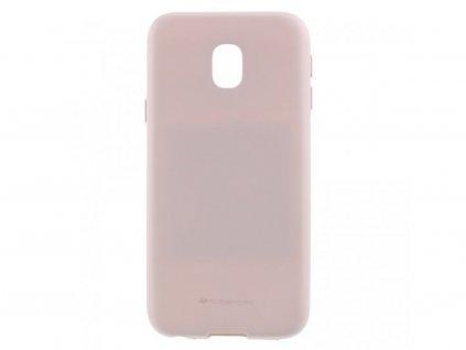 Ochranný kryt pro Samsung GALAXY J3 (2018) J337 - Mercury, Soft Feeling Pink Sand