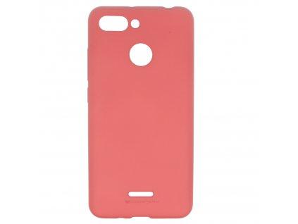 Ochranný kryt pro Xiaomi Redmi 6 - Mercury, Soft Feeling Pink