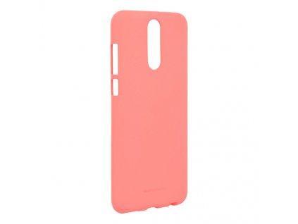 Pouzdro / kryt pro Huawei Mate 20 LITE - Mercury, Soft Feeling Pink