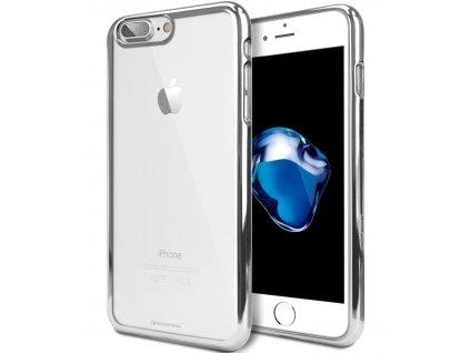 Ochranný kryt pro iPhone 7 PLUS / 8 PLUS - Mercury, Ring2 Silver