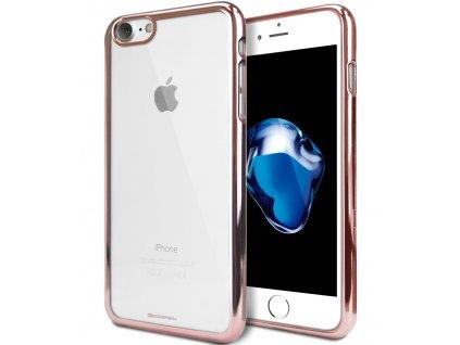 Ochranný kryt pro iPhone XR - Mercury, Ring2 RoseGold