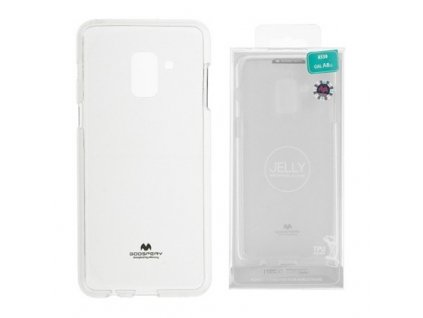 Pouzdro / kryt pro Samsung GALAXY A8 (2018) A530F - Mercury, Jelly Transparent