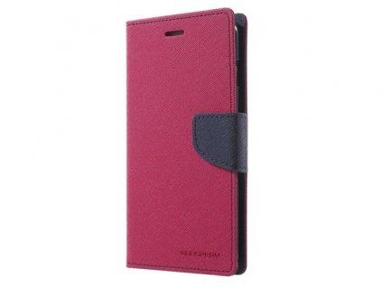 Pouzdro / kryt pro Xiaomi Redmi 5 PLUS / Note 5 - Mercury, Fancy Diary HotPink/Navy