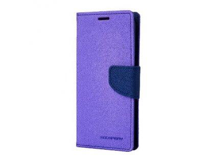 Pouzdro / kryt pro Samsung GALAXY J6 (2018) J600F - Mercury, Fancy Diary Purple/Navy