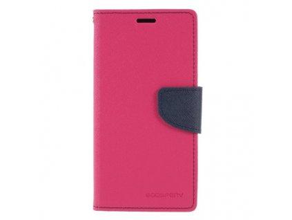 Pouzdro / kryt pro Huawei P20 LITE - Mercury, Fancy Diary HotPink/Navy