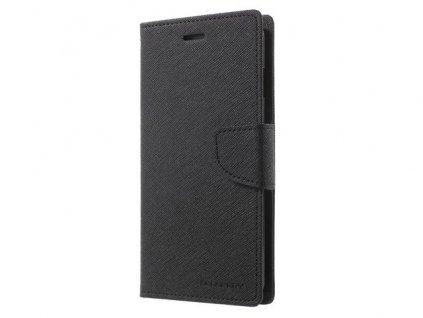 Pouzdro / kryt pro Samsung GALAXY A8 PLUS (2018) A730 - Mercury, Fancy Diary Black/Black