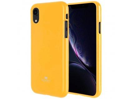 Ochranný kryt pro iPhone XR - Mercury, Jelly Yellow
