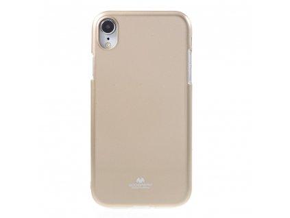 Ochranný kryt pro iPhone XR - Mercury, Jelly Gold