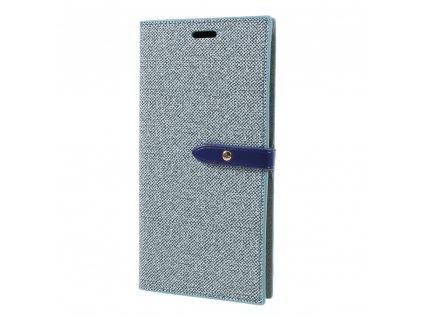 Pouzdro / kryt pro iPhone XS MAX - Mercury, Milano Diary Blue/Blue