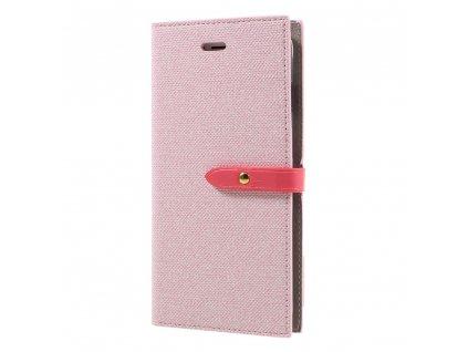 Pouzdro / kryt pro iPhone 7 Plus / 8 Plus - Mercury, Milano Diary Pink/Pink
