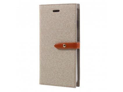 Pouzdro / kryt pro iPhone 7 Plus / 8 Plus - Mercury, Milano Diary Beige/Brown