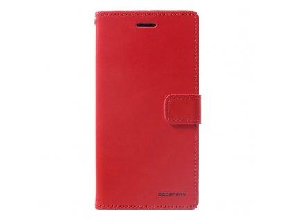 Pouzdro / kryt pro iPhone XR - Mercury, Bluemoon Diary Red