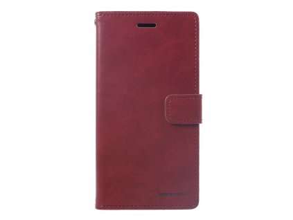 Pouzdro / kryt pro iPhone XR - Mercury, Bluemoon Diary Wine