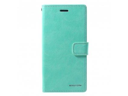Pouzdro / kryt pro iPhone XR - Mercury, Bluemoon Diary Mint