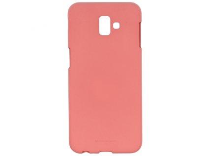 Ochranný kryt pro Samsung GALAXY J4 PLUS (2018) J415F - Mercury, Soft Feeling Pink