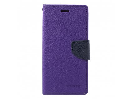 Pouzdro / kryt pro Samsung GALAXY J6 PLUS (2018) J610F - Mercury, Fancy Diary Purple/Navy