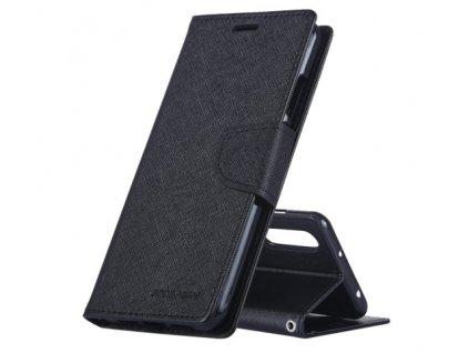 Pouzdro / kryt pro Huawei P20 LITE - Mercury, Fancy Diary Black/Black