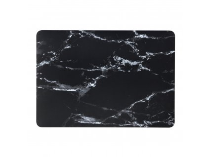 Polykarbonátové pouzdro / kryt na MacBook Air 13 (2018-2019) - Marble Black
