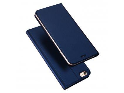 Pouzdro pro iPhone 5 / 5S / SE - DuxDucis, SkinPro Blue