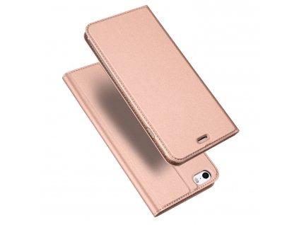 Pouzdro pro iPhone 5 / 5S / SE - DuxDucis, SkinPro Rose
