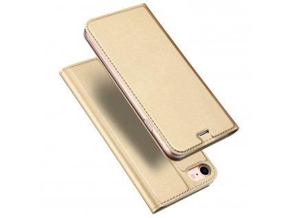 Pouzdro pro iPhone 7 / 8 / SE (2020) - DuxDucis, SkinPro Gold