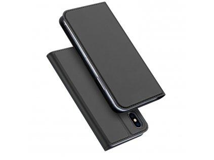 Pouzdro pro iPhone XS / X - DuxDucis, SkinPro Black