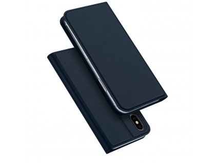 Pouzdro pro iPhone XS / X - DuxDucis, SkinPro Blue