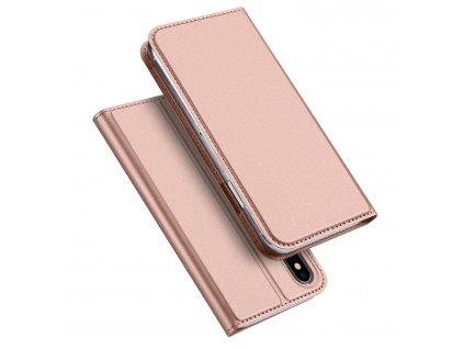 Pouzdro pro iPhone XS / X - DuxDucis, SkinPro Rose