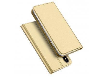 Pouzdro pro iPhone XS / X - DuxDucis, SkinPro Gold