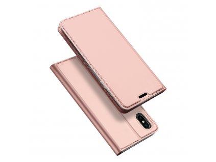 Pouzdro pro iPhone XS MAX - DuxDucis, SkinPro Rose