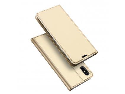 Pouzdro pro iPhone XS MAX - DuxDucis, SkinPro Gold