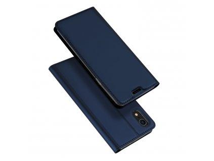 Pouzdro pro iPhone XR - DuxDucis, SkinPro Blue