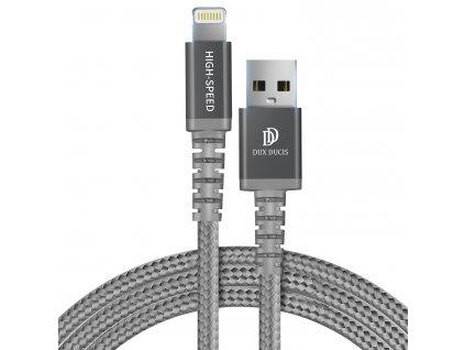 Certifikovaný kabel lightning pro iPhone a iPad - DuxDucis, K-ONE 100CM