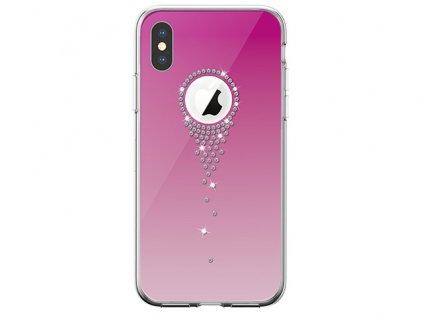 Ochranný kryt pro iPhone XS MAX - Comma, AngelTears Pink