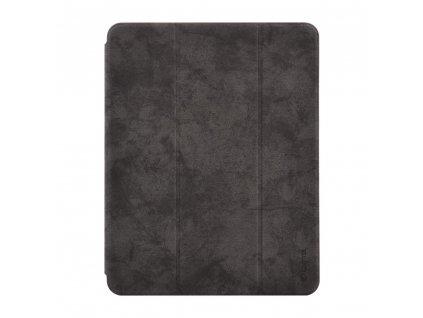Pouzdro / kryt pro iPad Pro 11 (2018) - Comma, Leather Case Black (Pencil Slot)