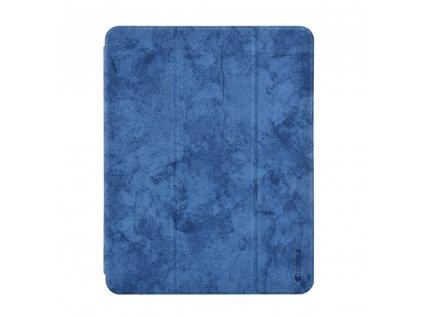 Pouzdro / kryt pro iPad Pro 11 (2018) - Comma, Leather Case Blue (Pencil Slot)