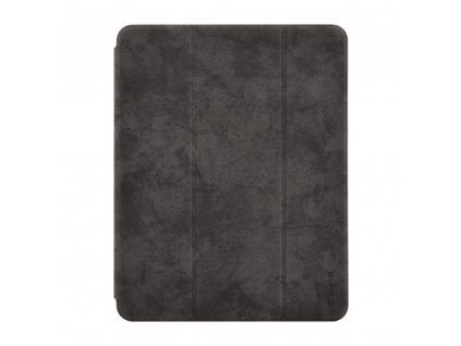 Pouzdro / kryt pro iPad Pro 12.9 (2018) - Comma, Leather Case Black (Pencil Slot)