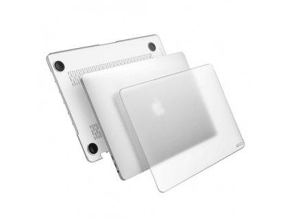 Polykarbonátové pouzdro na MacBook Pro 13 (2016-2019) - Comma, Hard Jacket Clear