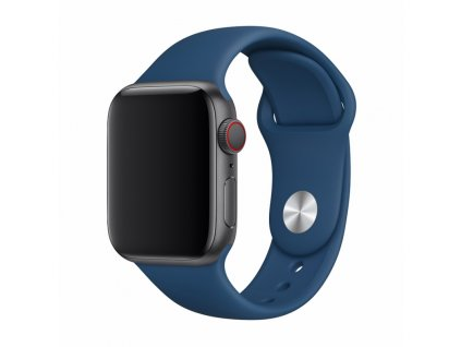 Řemínek pro Apple Watch 38mm / 40mm / 41mm - Devia, Sport Blue Horizon