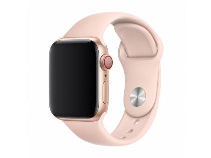 Řemínek pro Apple Watch 38mm / 40mm / 41mm - Devia, Sport Pink Sand